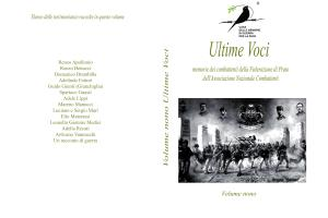 Ultime Voci Volume Nono